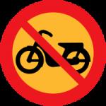 Förbud mot mopedtrafik